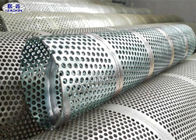 Metal Perforated Stainless Steel Pipe For Liquids / Solids / Air Filtration