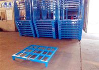 Cargo Forklift Stacking Pallet Racks Durable Galvanized Iron Steel Save Space