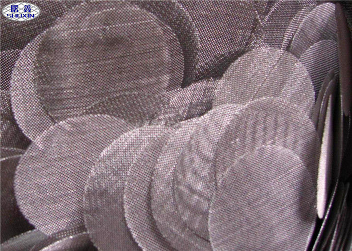 Sintered Stainless Steel Filter Disc Wire Mesh For Petroleum / Chemical