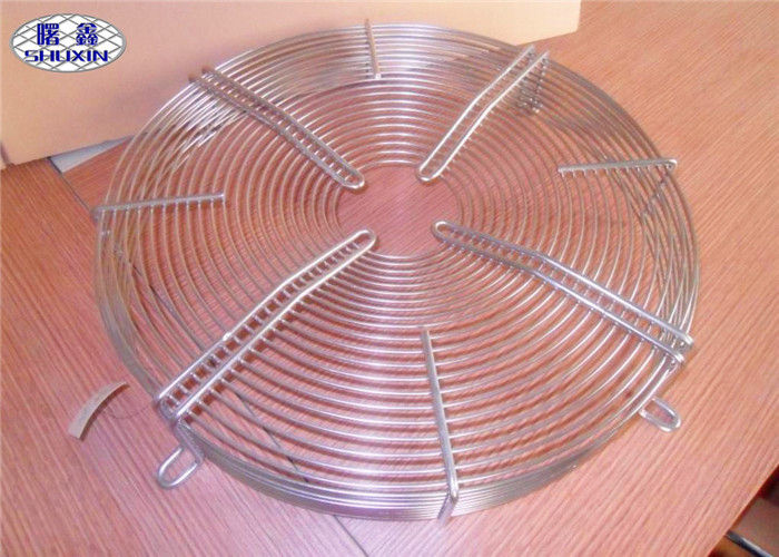 Stainless Steel Fan Grill Cover , Metal Cooling Fan Cover For 3D Printer